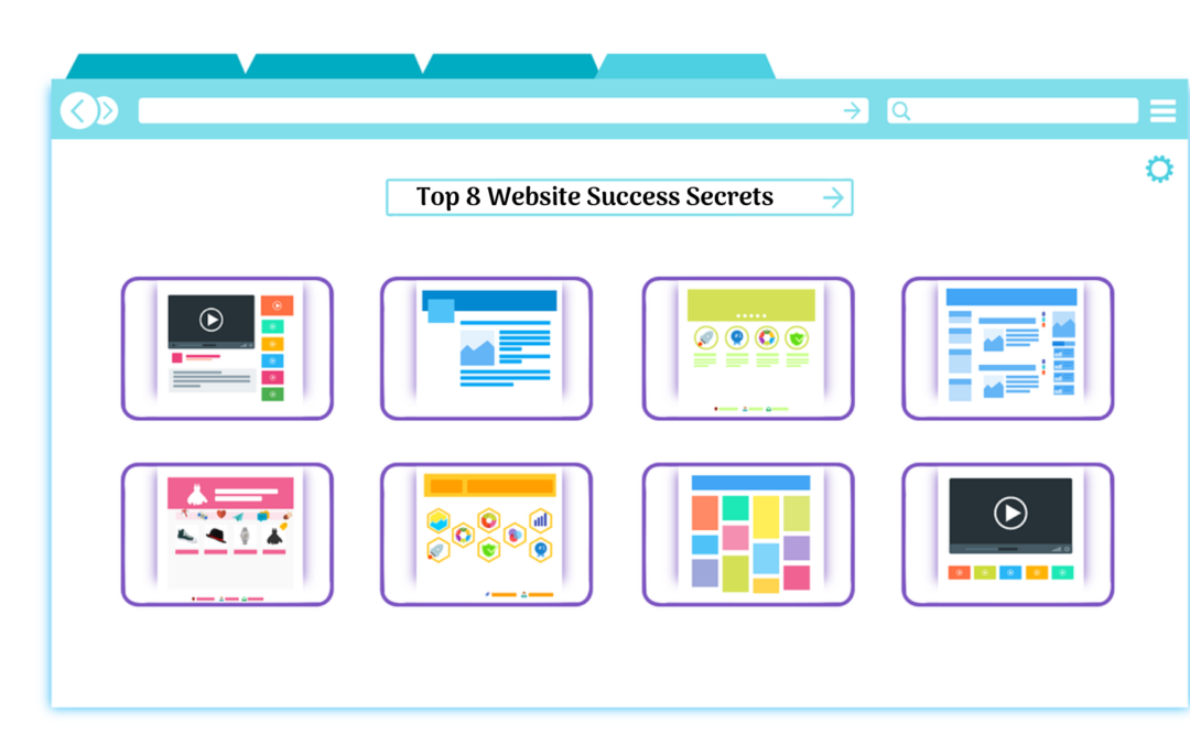 Top 8 Website SUCCESS SECRETS Behind YOUR Single Click
