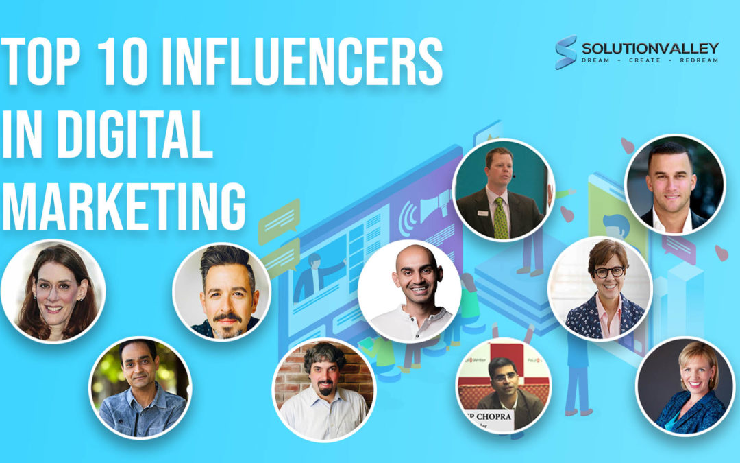 Top 10 Ultimate Digital Marketing Influencers of 2020