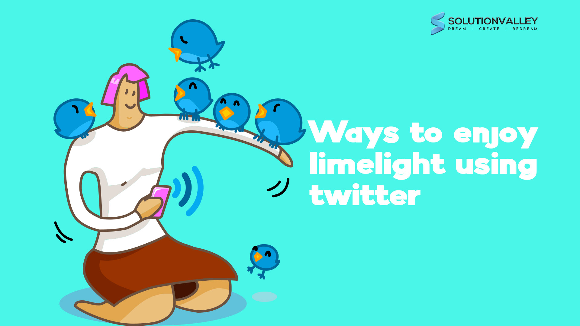 enjoy limelight using twitter