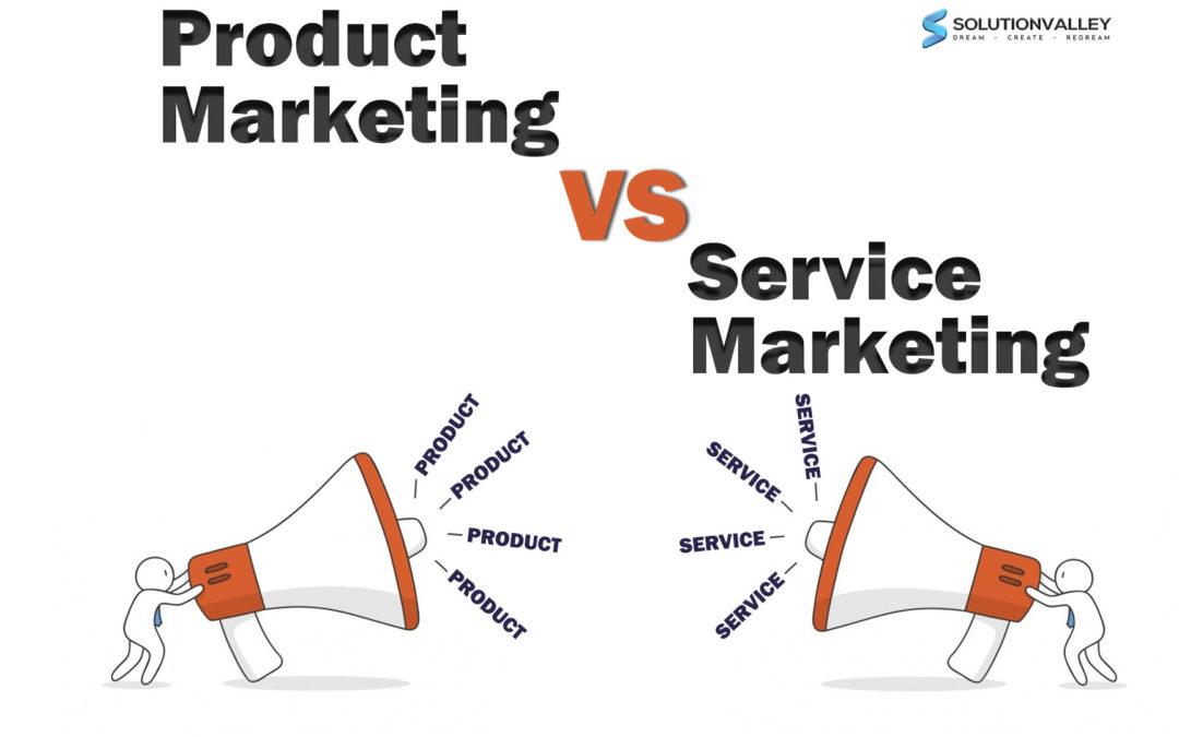 product marketing vs service marketing